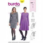 6385 Burda Pattern: Misses' Dresses